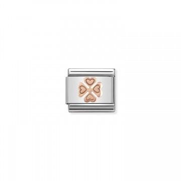 Quadrifoglio- Oro Rosa