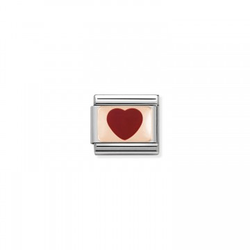 Red Heart - Rose Gold and...