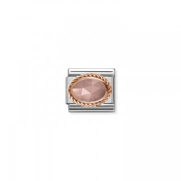 Apricot Calcedonia - Rose Gold