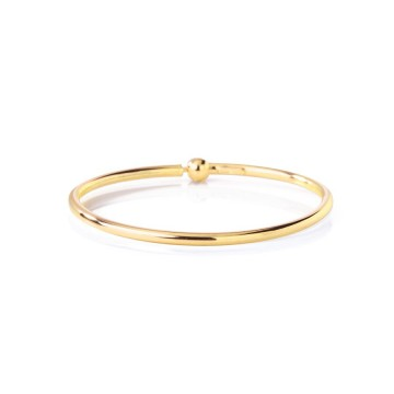 Bangle gold plated XL