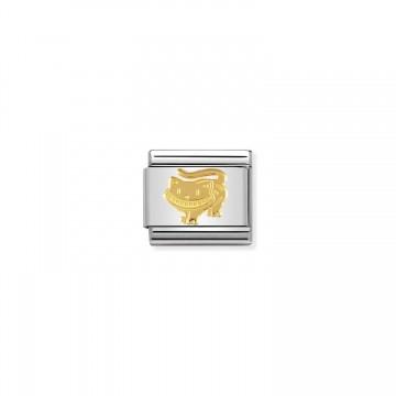 Gato Cheshire - Oro