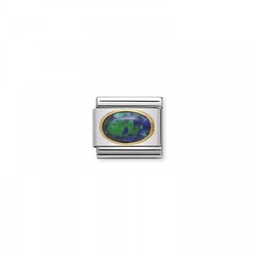 Grüngold-Opal