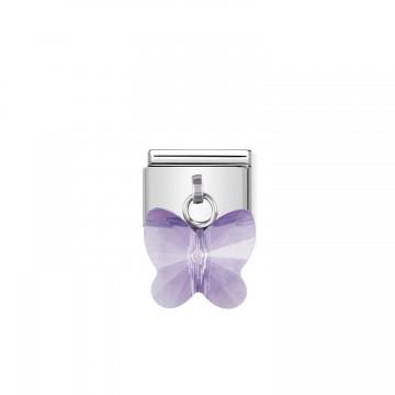 Farfalla Viola - Swarovski