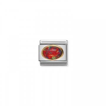 Opale Rosso - Oro