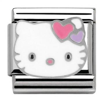 Hello Kitty Cuori- Argento...