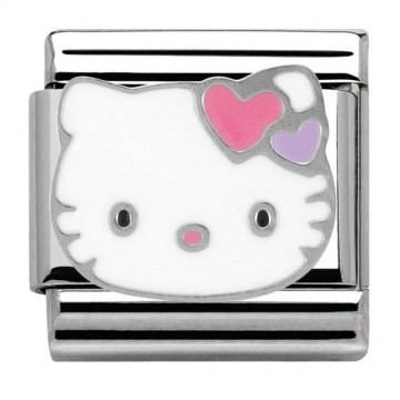 Hello Kitty Hearts- Silver...