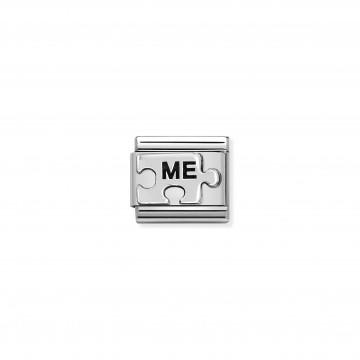 ME puzzle - Argento e smalto