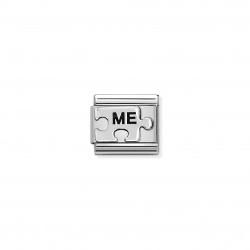 ME puzzle - Silver and Enamel