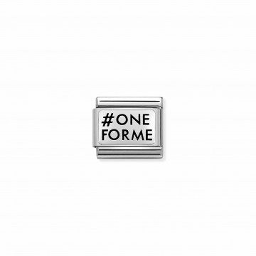 OneForMe - Silver and Enamel