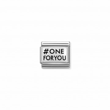 OneForYou - Silver and Enamel