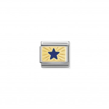 Star Blue - Yellow Gold and...