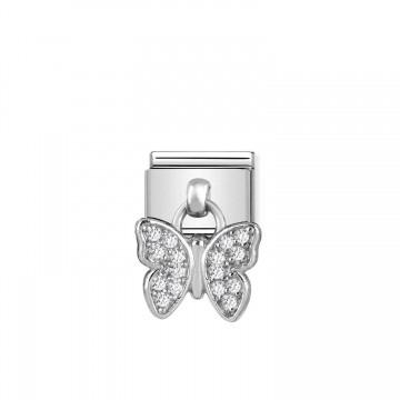 Farfalla Pendente - Argento...