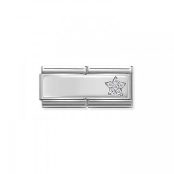 Star with CZ - Silver