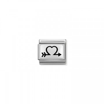 Open Heart with Arrow -...