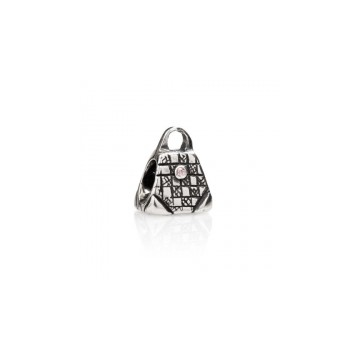 Bag with pink zircon