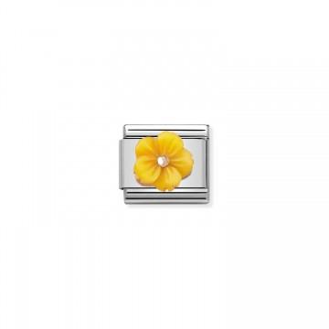 Yellow Flower - Rose Gold...