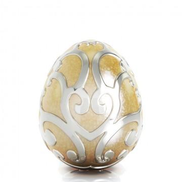 Easter Egg with Enamel Golden