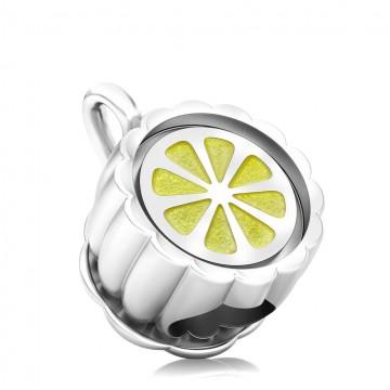 Teacup with Enamel  - Lemon...