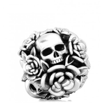 Skulls and Flower Bouquet