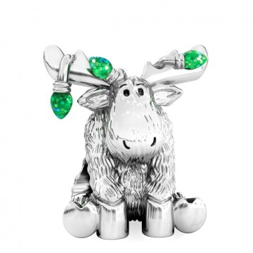 Moose with Green Lights