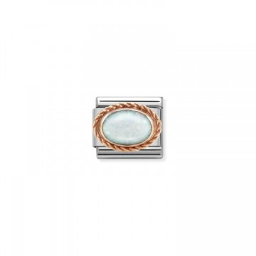 Opale Bianco - Oro Rosa