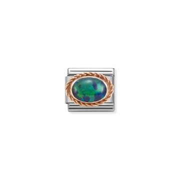 Opale Verde - Oro Rosa