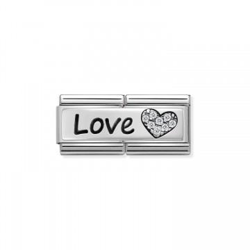 Amor con Corazón - Plata y CZ