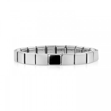 Bracelet with Black Agate...