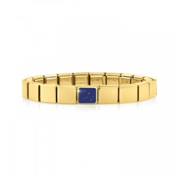 Yellow Bracelet with Blue...
