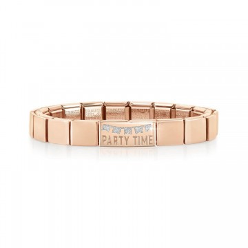 """Pink Bracelet with """"Party..."""