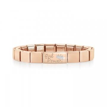 "Pink Bracelet with ""Girl..."