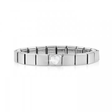 Steel Bracelet with Mother...