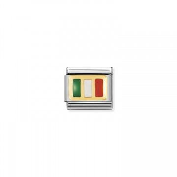 Bandera Italiana - Oro...